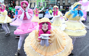 Watch Dublin's St Patrick's Day parade online