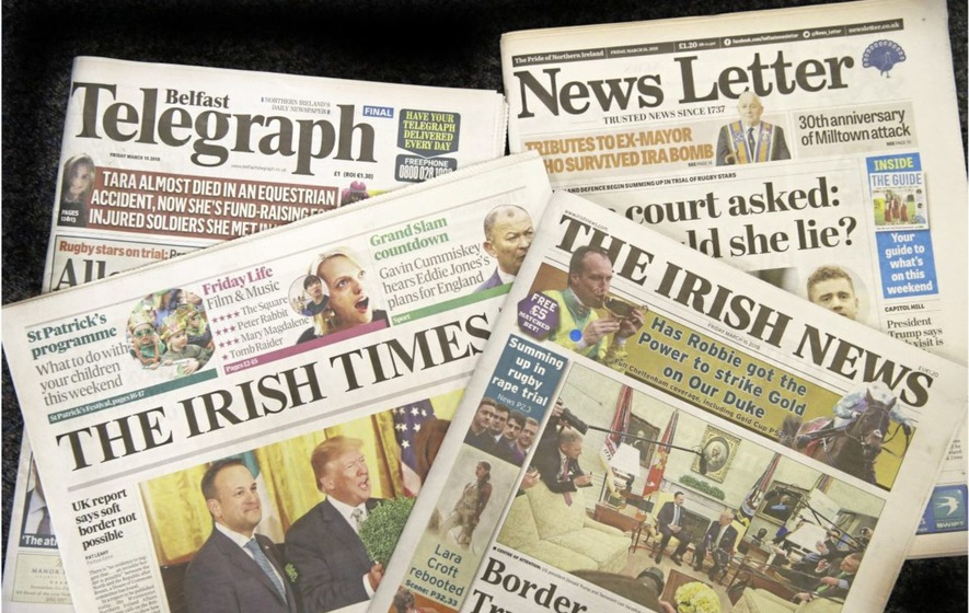 Irish News is best-performing daily paper in UK says website
