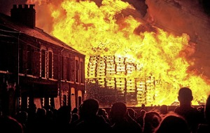 Unionist parties' report on Belfast bonfires does not mention paramilitaries