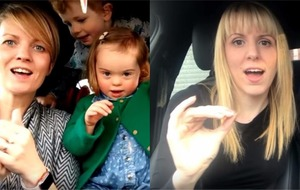 Tear-jerking Carpool Karaoke-style video features 50 mums and their children with Down syndrome