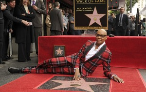 RuPaul honoured as first drag queen to get star on Hollywood Walk of Fame