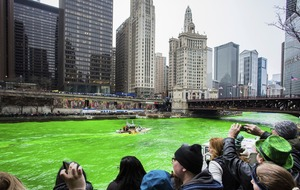 Did you know the Chicago River is dyed green on St Patrick's Day?