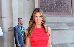 Elizabeth Hurley vows to help make streets safer after nephew stabbed