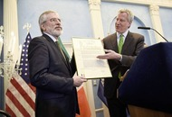 Unionists hit out at New York's 'Gerry Adams Day'