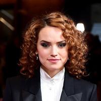 Daisy Ridley glamorous in tuxedo at Empire Awards