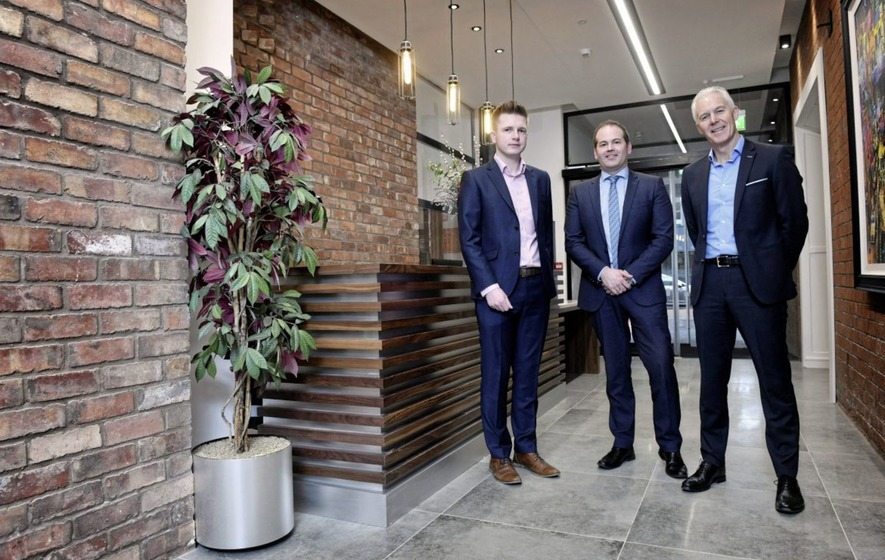 Former Belfast linen mill now fully let office block after multi