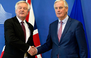Brexit: UK and EU agree to write border 'backstop' solution into legal text