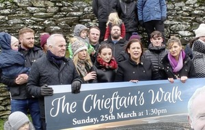 Cross-border walk among events marking first anniversary of Martin McGuinness death