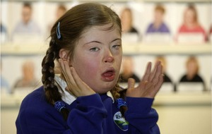 Templepatrick teen Charlotte highlights World Down Syndrome Day