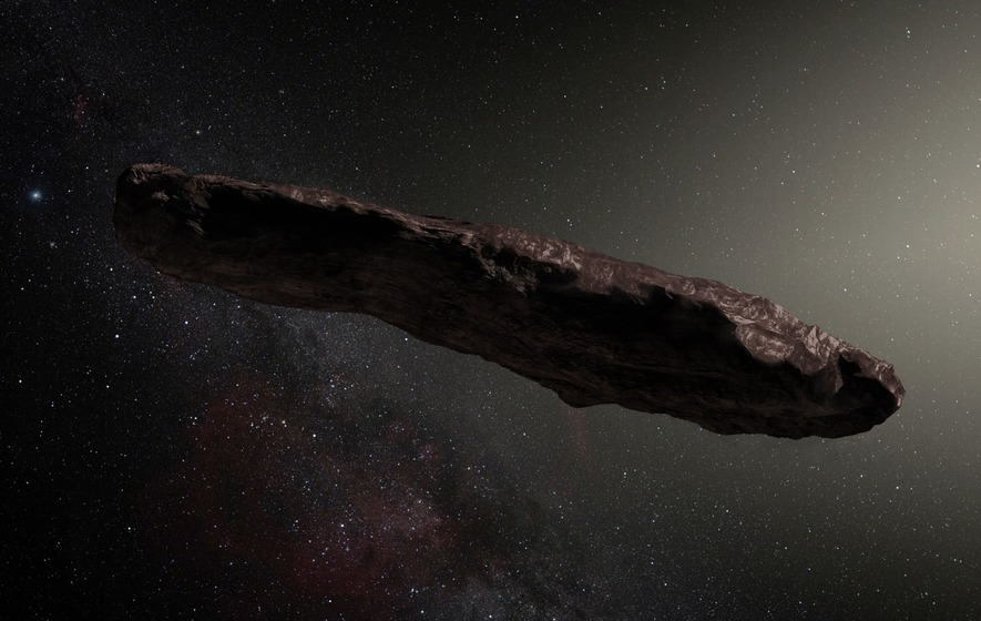 Interstellar asteroid likely came from 2-star system
