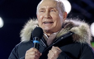 Vladimir Putin wins fourth term with almost 77 per cent of Russian vote
