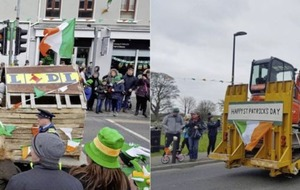 'Lidl looting' floats in St Patrick's Day parades