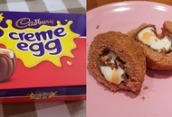 This woman improvised her own sweet Scotch egg with Cadbury Creme Eggs, but how did it taste?