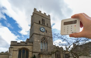 Let us pay: Church of England introduces contactless payment terminals