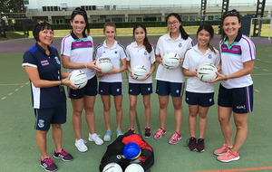 Video: Ladies Gaelic All Stars hold coaching sessions with children in Bangkok