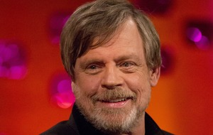 Mark Hamill finds Princess Leia likeness on his hotel room wall