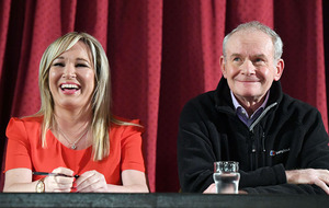 Michelle O'Neill: A year since we lost our friend and leader Martin McGuinness