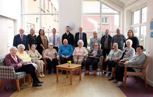 Larne residents mark completion  of £200,000 renovation works