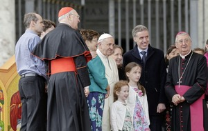William Scholes: Still waiting for white smoke on northern papal visit