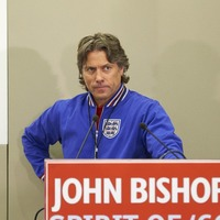 John Bishop on one man mission to World Cup victory