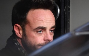 TV presenter Ant McPartlin charged with drink-driving
