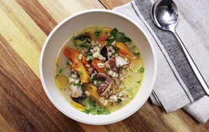 James Street South Cookery School: There just one thing for weather like this – soup