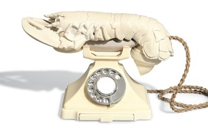 Dali lobster telephone at risk of export from the UK