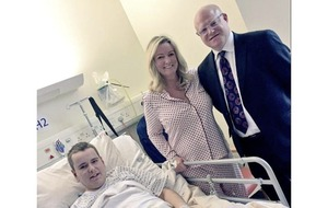 "Former MLA ""proud and honoured"" to have been able to donate kidney to her son"