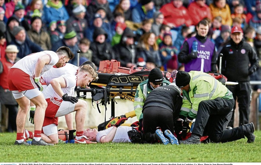 GAA should follow the rugby example in relation to player safety