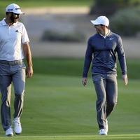 Dustin Johnson out but Rory McIlroy survives in Texas