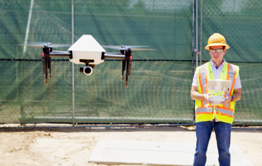 Customised drones will be used to map construction sites ahead of
