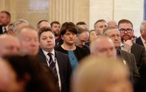 Jim Gibney: DUP turnout at Martin McGuinness portrait unveiling was significant