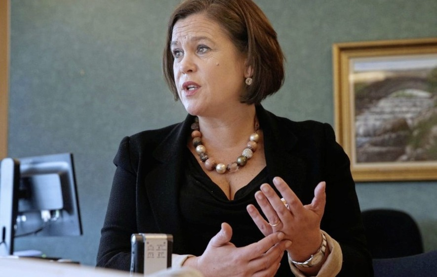 Mary Lou McDonald plans to lead Sinn Féin from the front