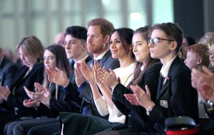 Prince Harry and Meghan Markle's words of peace on visit to Northern Ireland