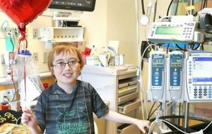 The boy whose heart transplant reveal video went viral has had a successful operation