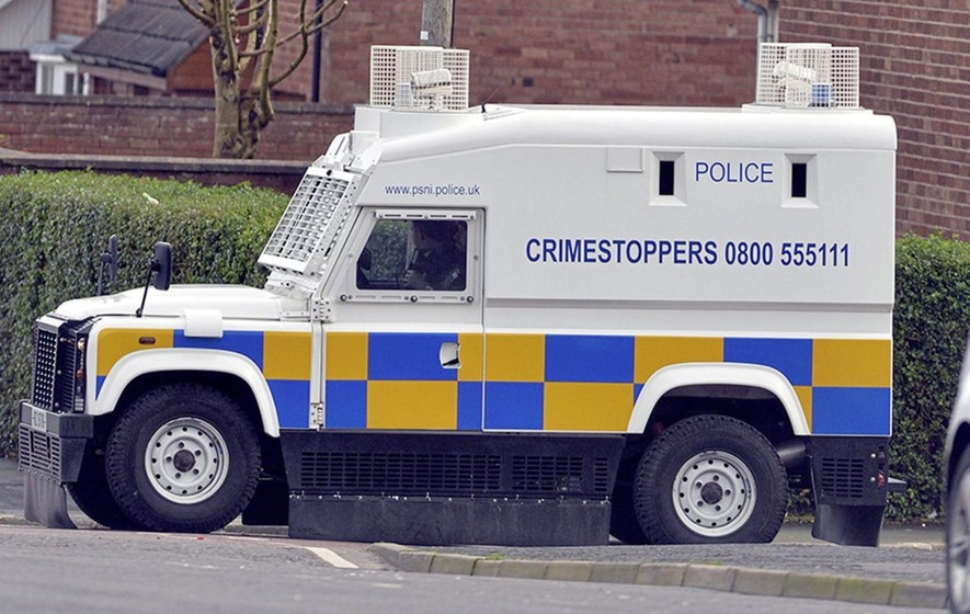 12e3f9bd67 70 youths attack police in west Belfast - The Irish News