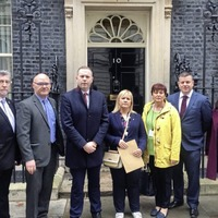 Loughinisland campaigners deliver petition to Downing Street