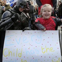 Parents protest over proposed special schools shake-up