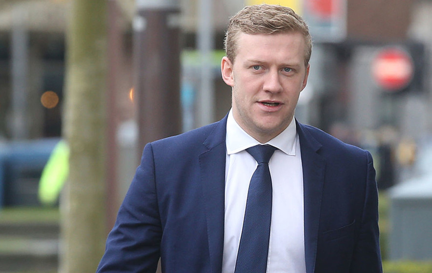 Paddy Jackson To Sue Senator Aodhan O'Riordain Over Tweet