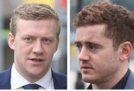 Paddy Jackson and Stuart Olding sacked by Ulster Rugby
