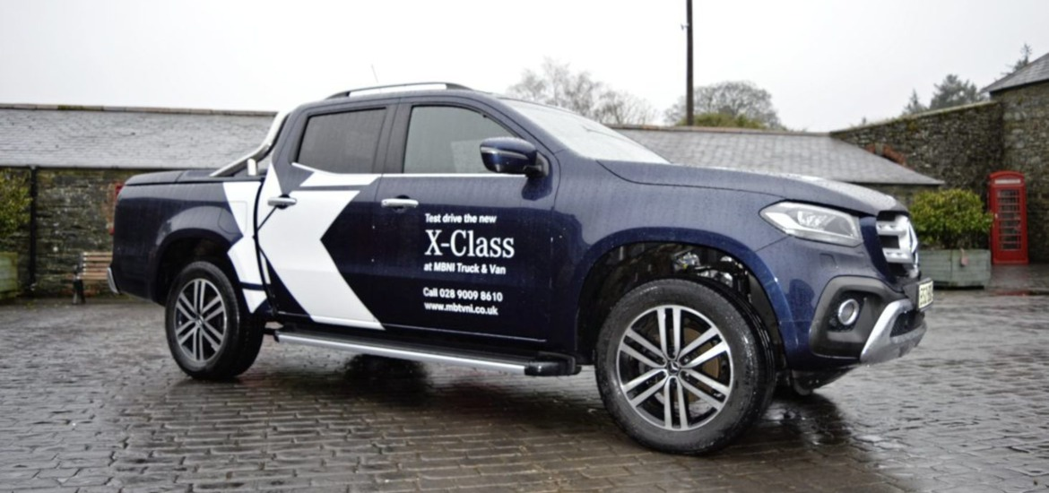 2018 Mercedes Pick Up Truck >> Mercedes-Benz X-Class: The truck gets a premium pick-up - The Irish News