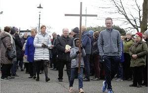 Good Friday marked by processions of the cross