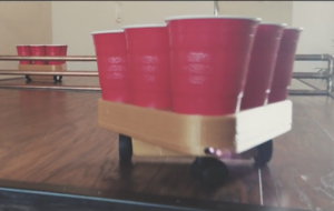 Step up your beer pong game with this handy robot