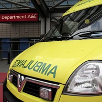 Ambulance attacked taken out of commission