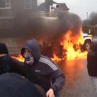 Video: Police attacked in Derry during Easter Rising commemoration parade