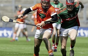 Hurler Cahal Carvill comes to the end of the road with Armagh