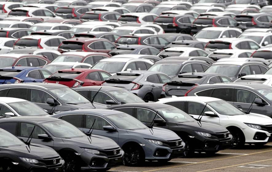 United Kingdom vehicle sales slide for 12th consecutive month in March