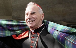 Cardinal Keith O'Brien asked for forgiveness in will, mourners told