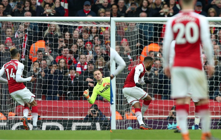 Lacazette brace as Arsenal thrash CSKA Moscow