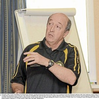 New Slaughtneil boss Terence McWilliams following in familiar footsteps